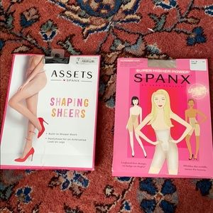 Spanx Bundle (two diff sizes)